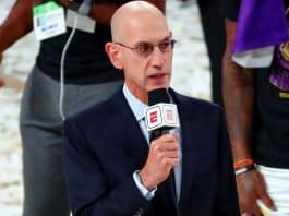 Optimistic Adam Silver, after NBA 'weathered' shortened schedule, looks forward to a season that should be 'a lot more like normal'