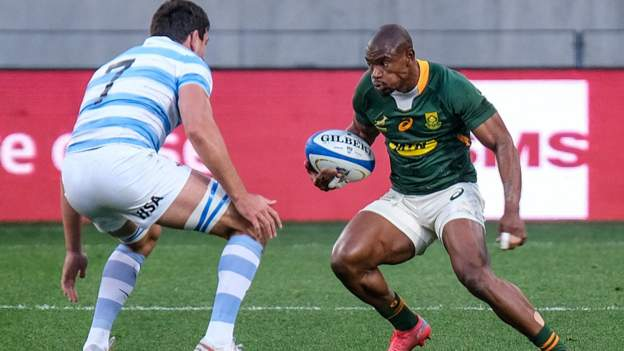 Rugby Championship: South Africa defeated Argentina in the second half with two tries