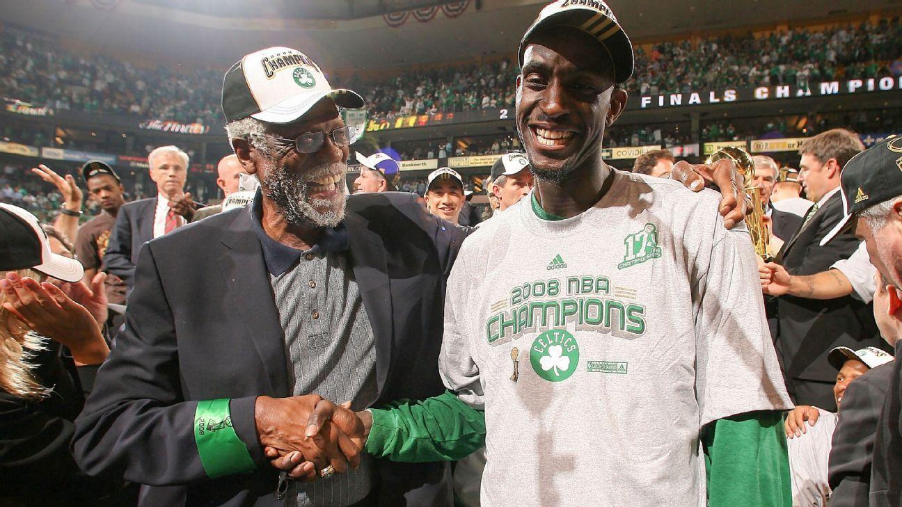 Boston Celtics will retire Kevin Garnett's jersey March 13