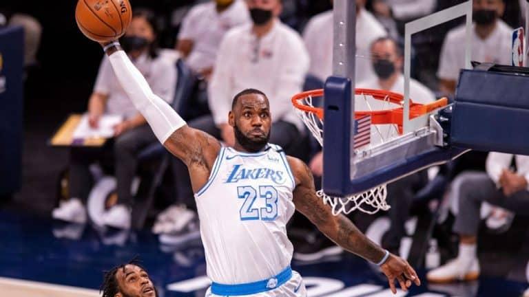 LeBron Jam reacts to receiving zero votes as NBA's top player in an offseason survey