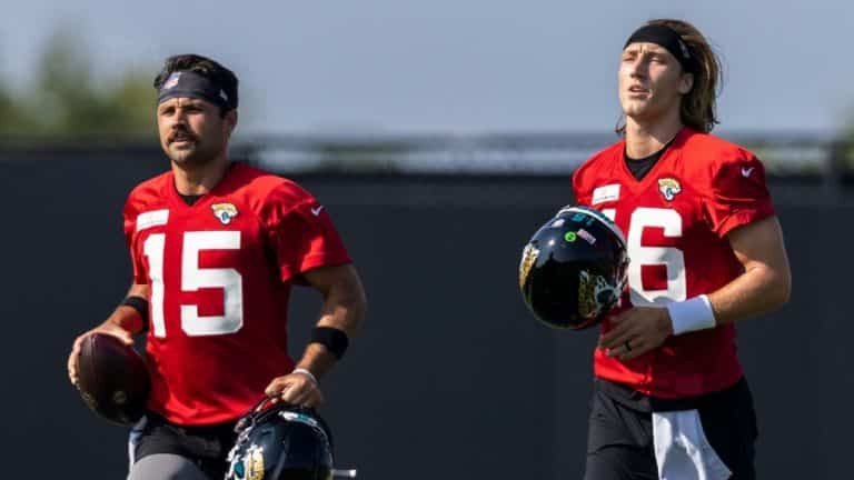 Urban Meyer, Jacksonville Jaguars Coach, sets a timetable to name the starting quarterback. But there is still plenty of competition
