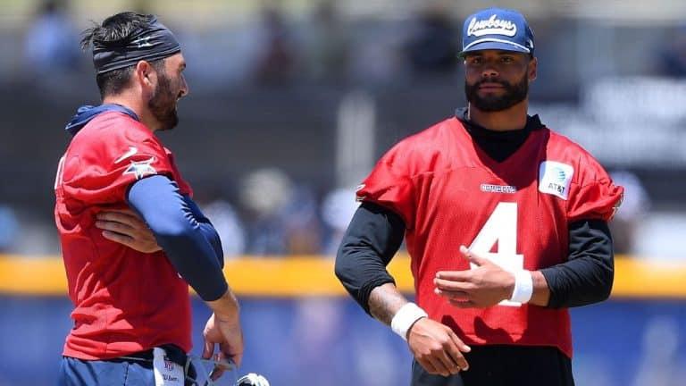Source -- Dallas Cowboys QB Dak Preston (shoulder) will start Week 1