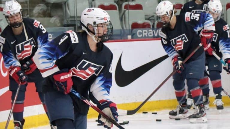 USA women's hockey is getting older, as Caroline Harvey shows.