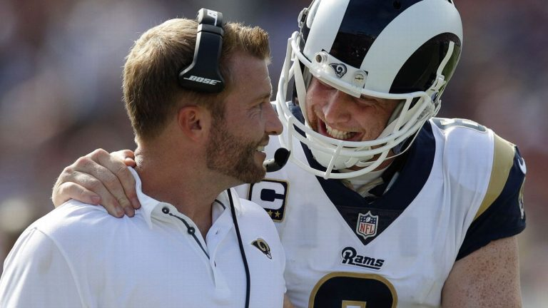 Los Angeles Rams are without their two punters in preseason against Las Vegas Raiders