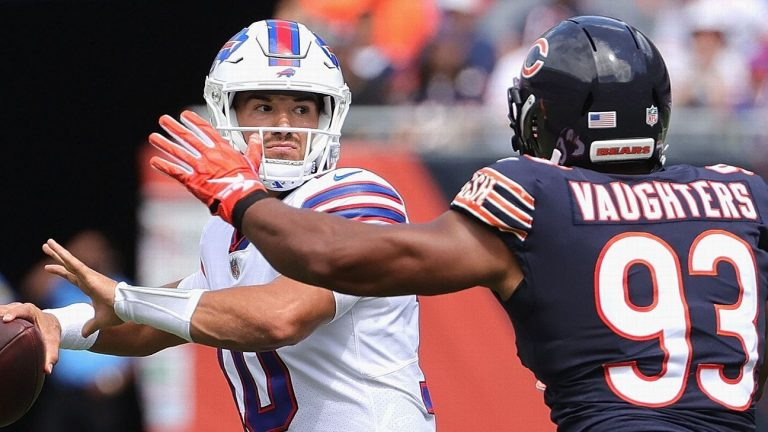 Mitchell Trubisky wins again at Soldier Field and stars in the victory for Buffalo Bills over Chicago Bears
